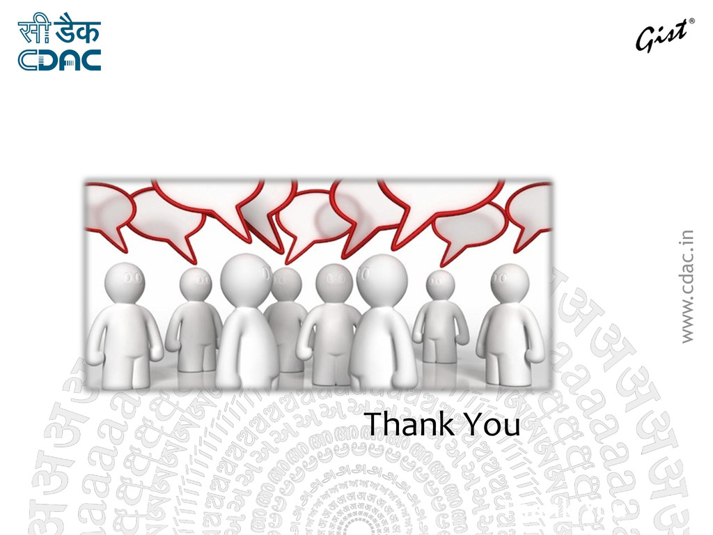 www.cdac.in Discussi ons Thank You Thank You