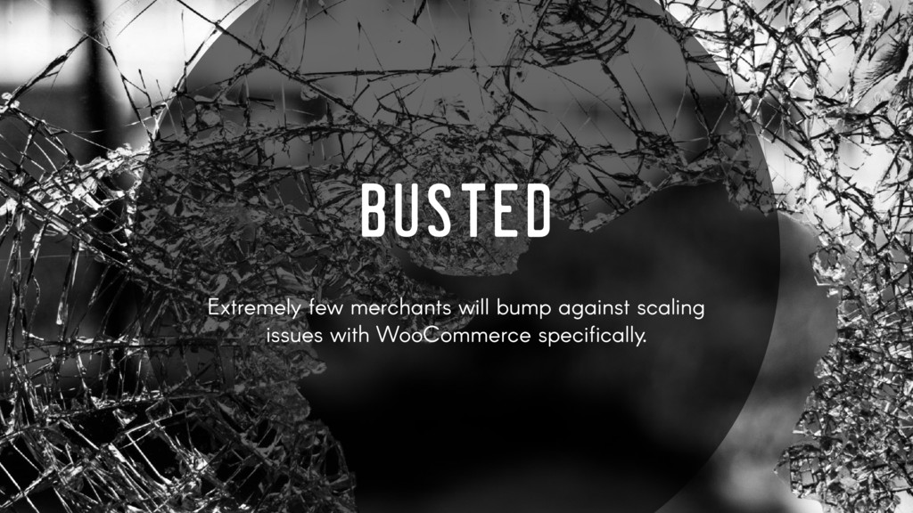 BUSTED Extremely few merchants will bump agains...