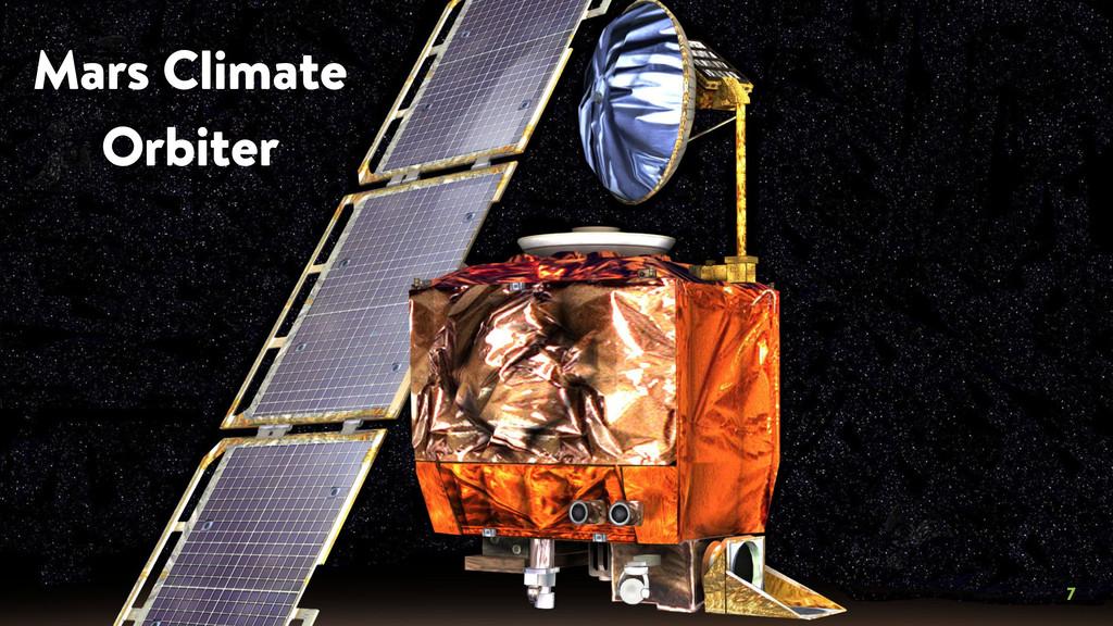 7 Mars Climate Orbiter