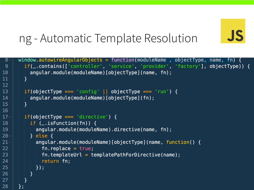ng - Automatic Template Resolution