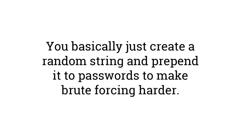 You basically just create a random string and p...