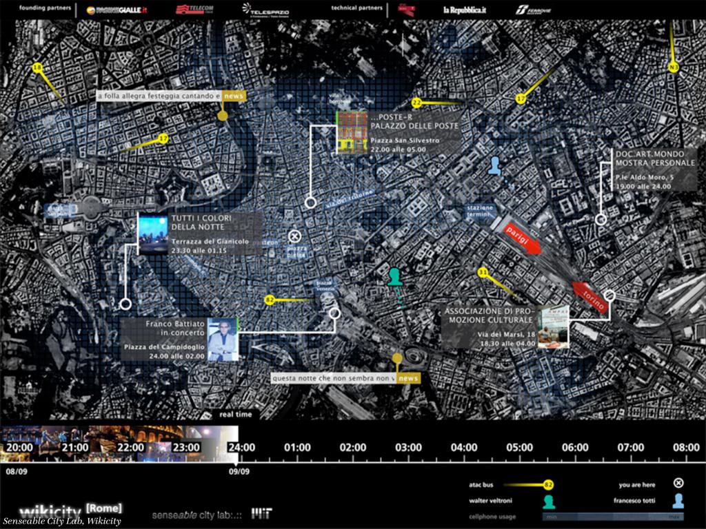 Senseable City Lab, MIT, http://senseable.mit.e...