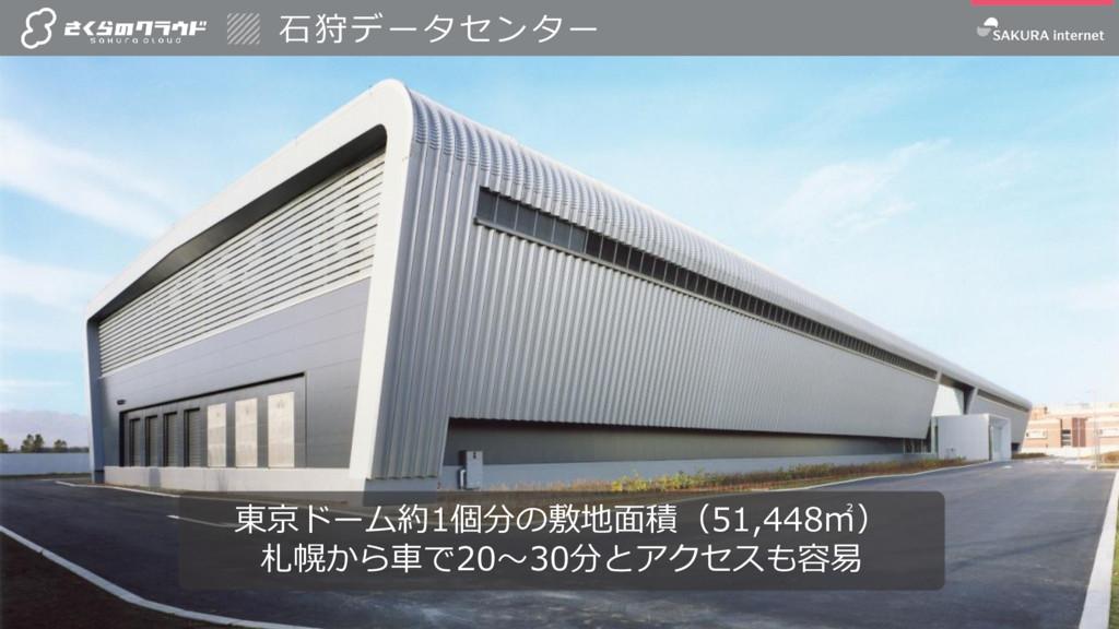 5 5 東京ドーム約1個分の敷地面積(51,448㎡) 札幌から車で20~30分とアクセスも容...