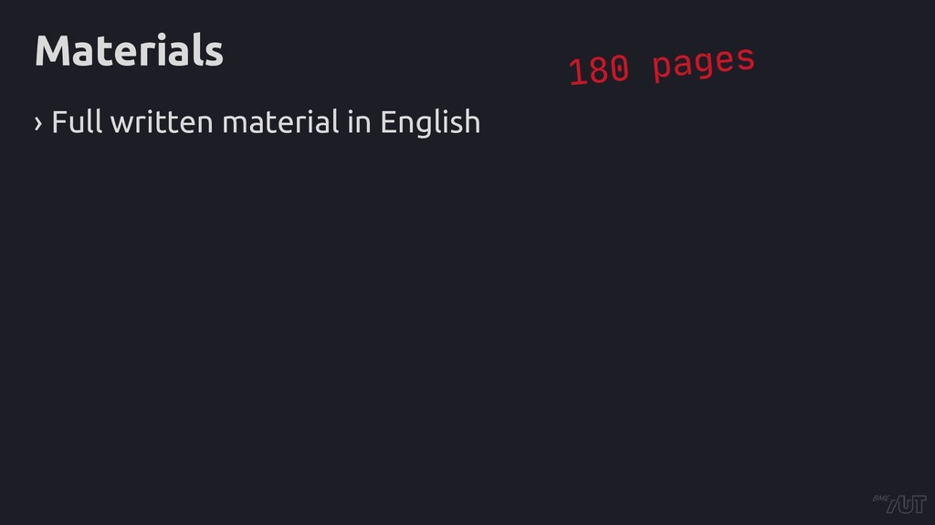 Materials › Full written material in English