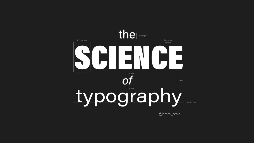 @bram_stein the SCIENCE typography of 2em glyph...