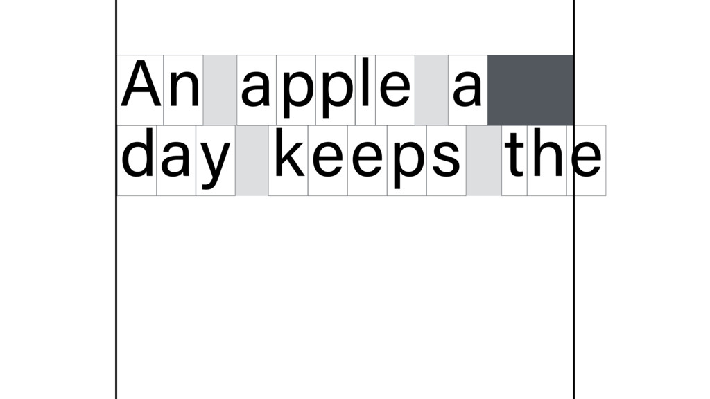 n A apple a d y a keeps t e h