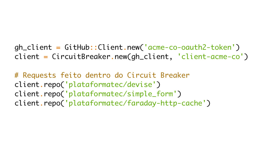 gh_client = GitHub::Client.new('acme-co-oauth2-...