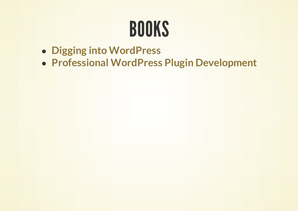 BOOKS Digging into WordPress Professional WordP...