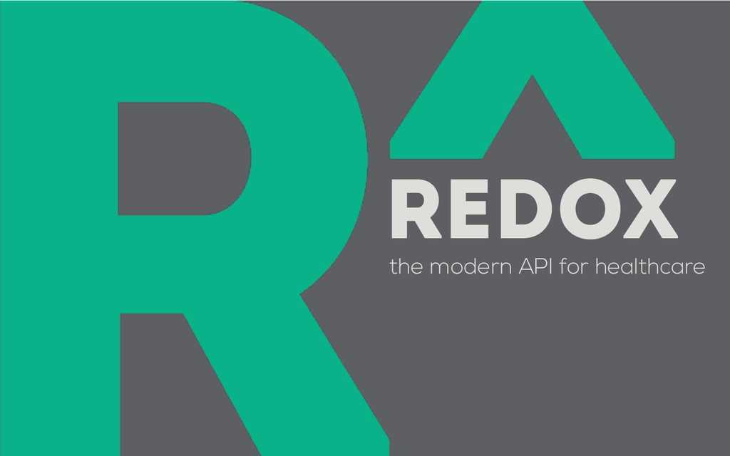 the modern API for healthcare REDOX