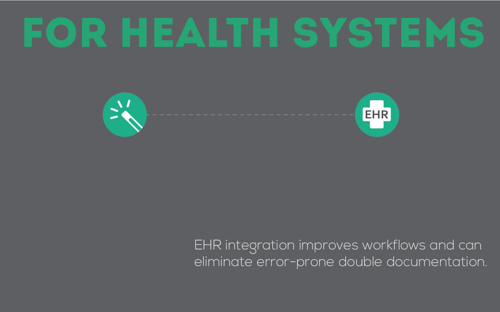 EHR integration improves workflows and can elim...
