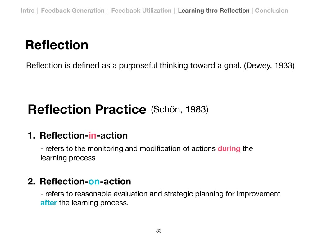 Reflection Reflection is defined as a purposeful t...