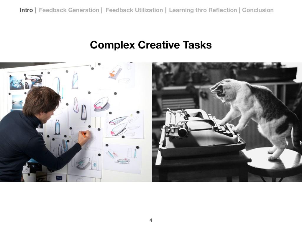 Complex Creative Tasks Intro | Feedback Generat...