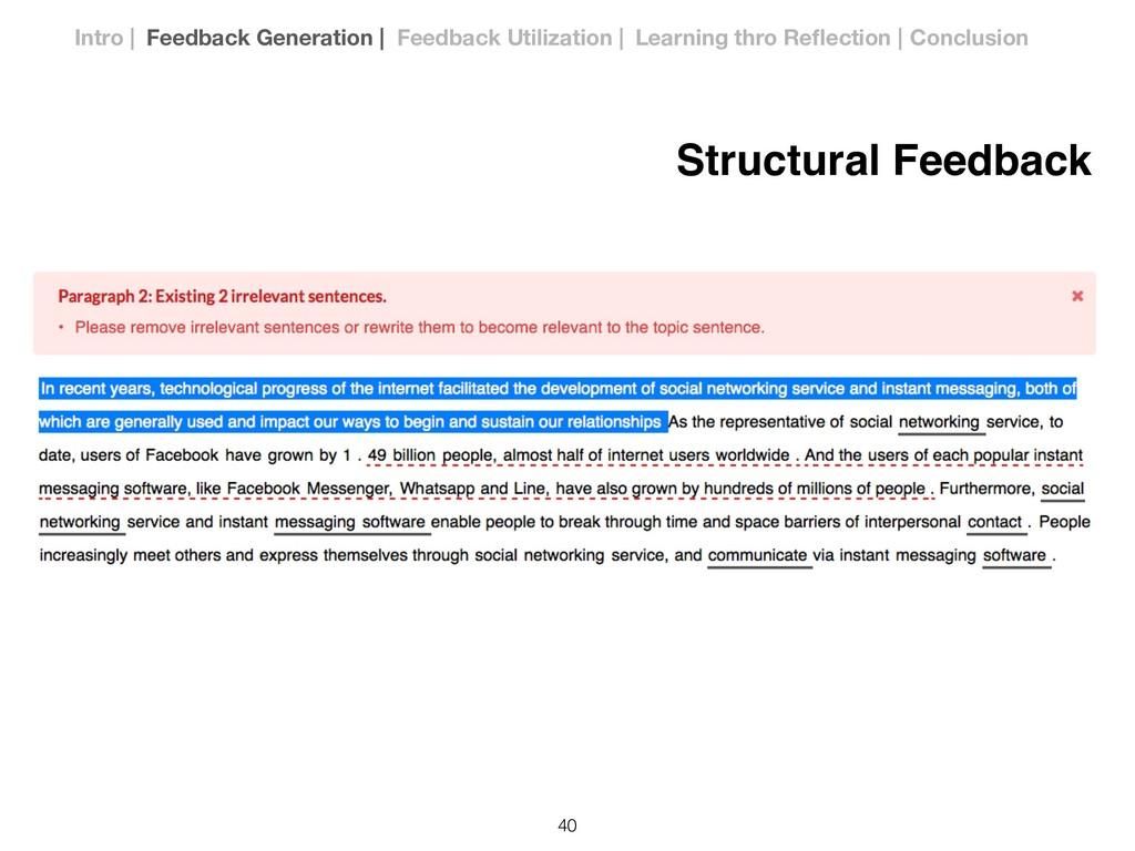 Structural Feedback !40 Intro | Feedback Genera...