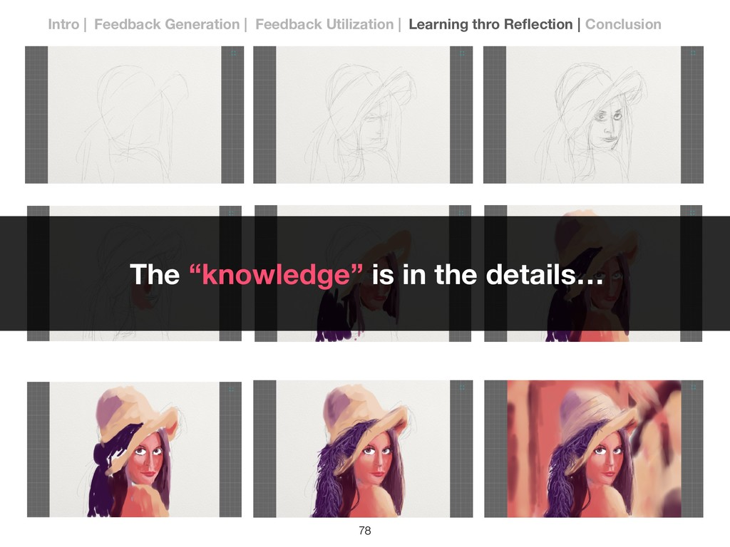 """!78 The """"knowledge"""" is in the details… Intro 