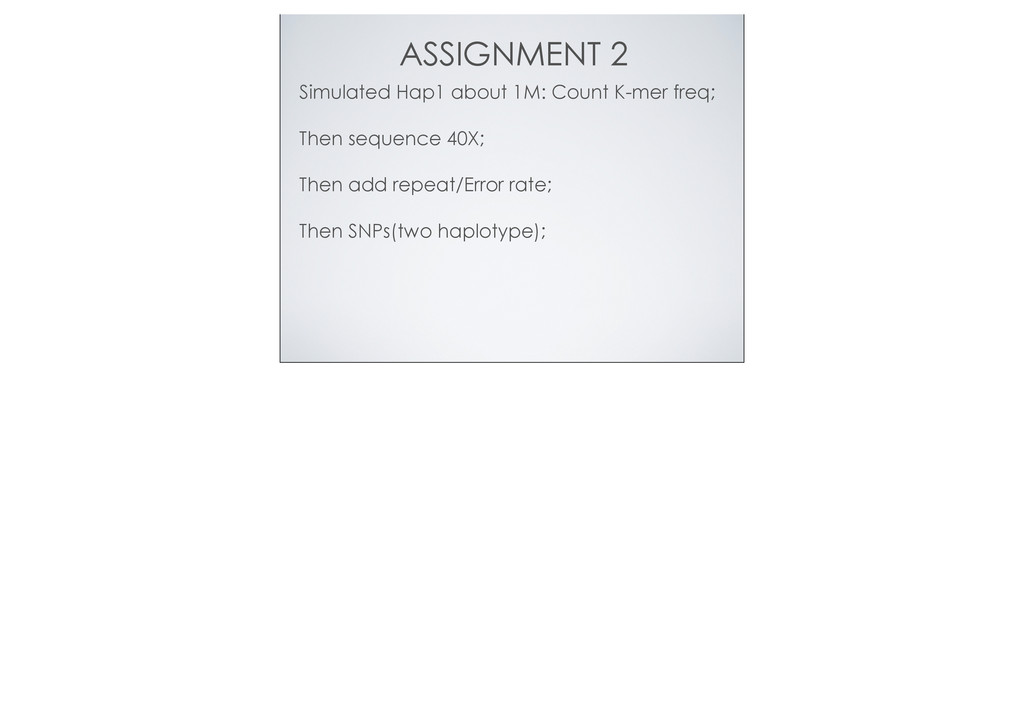 ASSIGNMENT 2 Simulated Hap1 about 1M: Count K-m...
