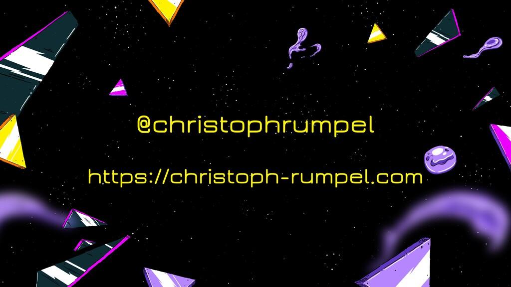 @christophrumpel https://christoph-rumpel.com