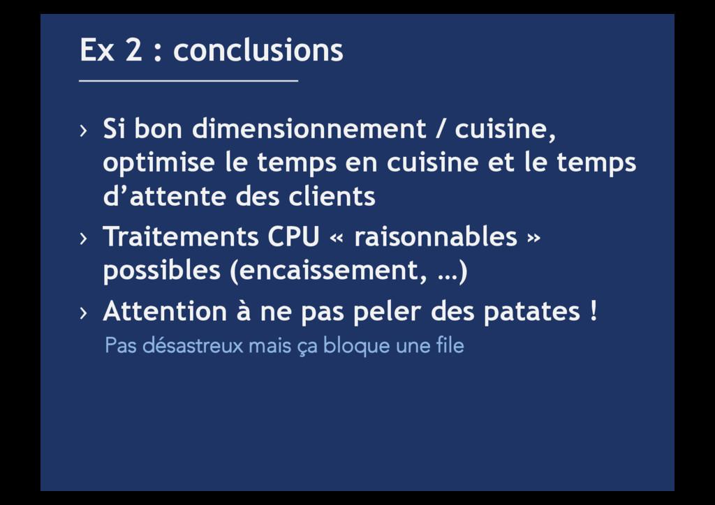 › Si bon dimensionnement / cuisine, optimise l...
