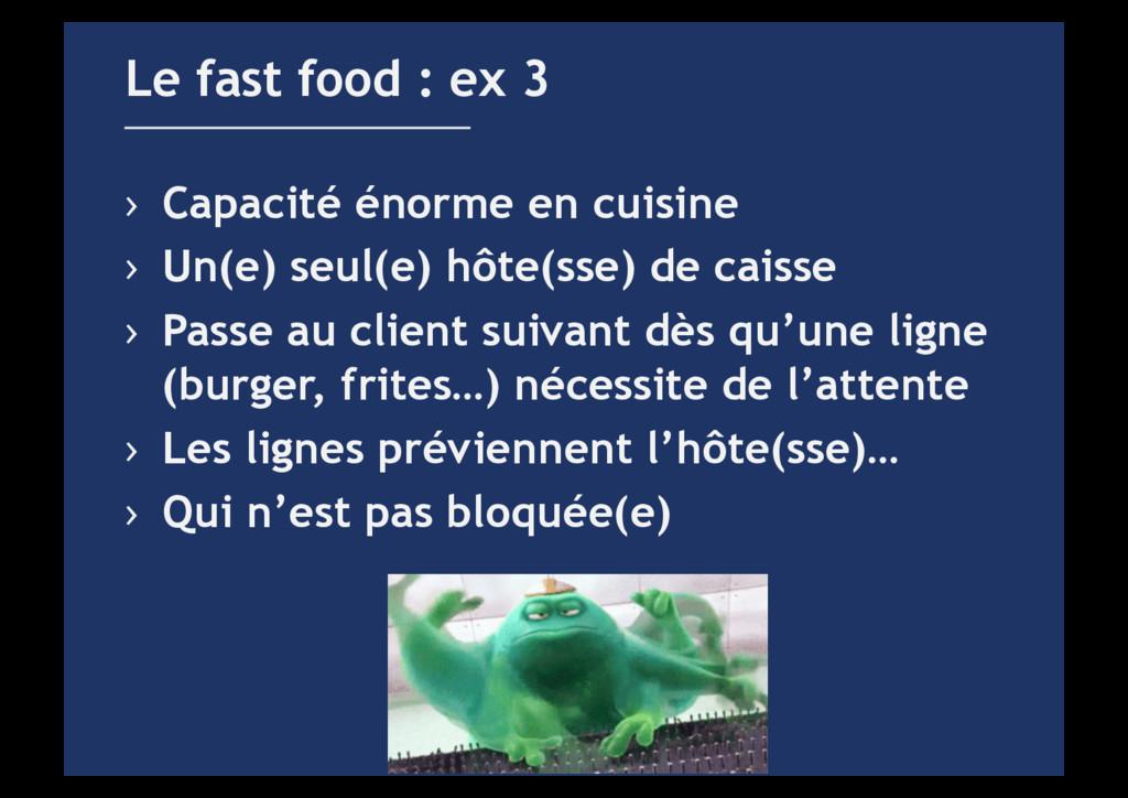 › Capacité énorme en cuisine › Un(e) seul(e) ...