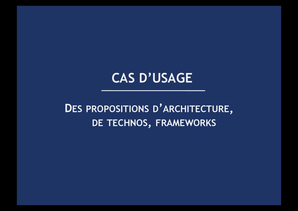 DES PROPOSITIONS D'ARCHITECTURE, DE TECHNOS, FR...