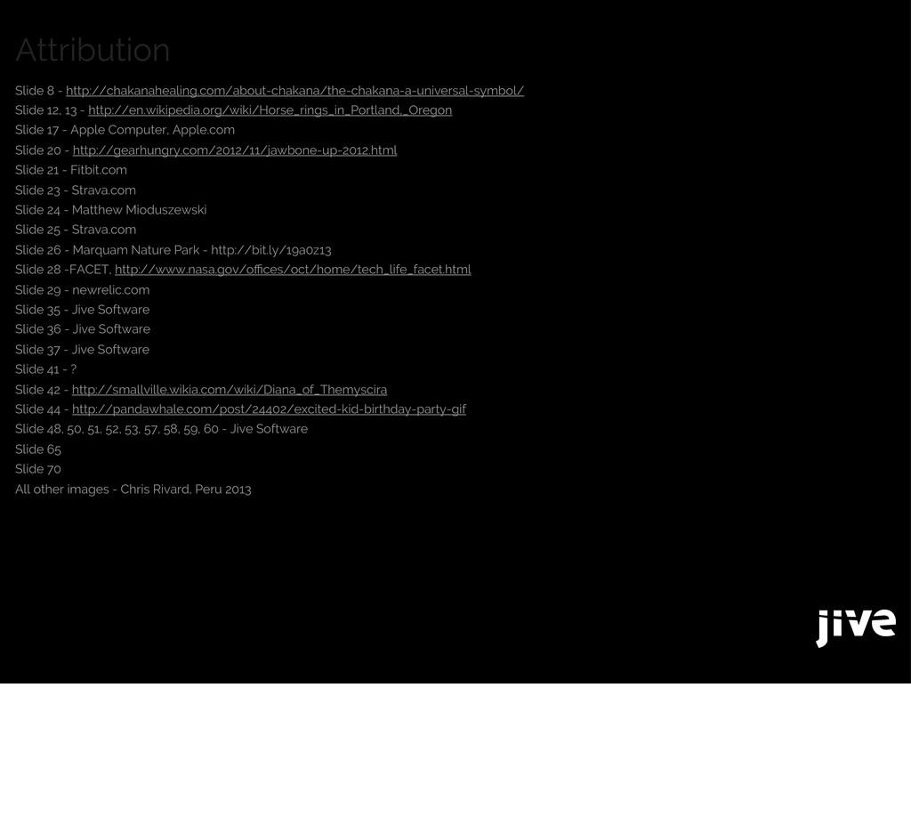 Attribution Slide 8 - http://chakanahealing.com...