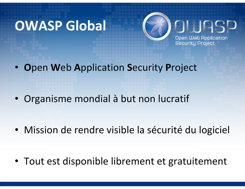 OWASP Global • Open Web Application Security Pr...