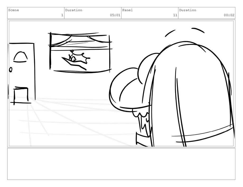 Scene 1 Duration 05:01 Panel 11 Duration 00:02
