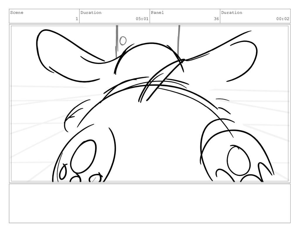 Scene 1 Duration 05:01 Panel 36 Duration 00:02