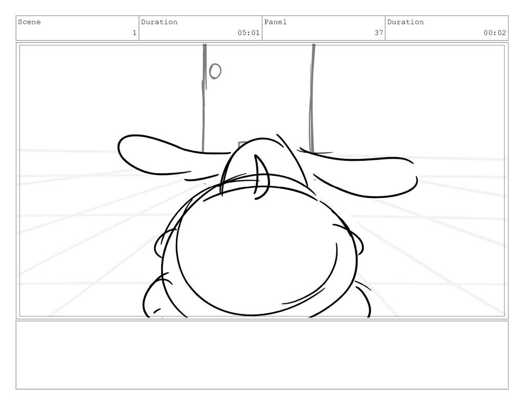 Scene 1 Duration 05:01 Panel 37 Duration 00:02