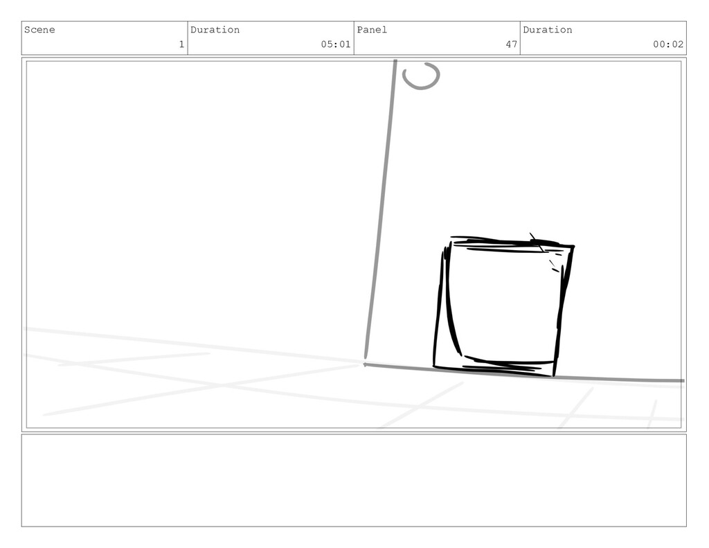 Scene 1 Duration 05:01 Panel 47 Duration 00:02