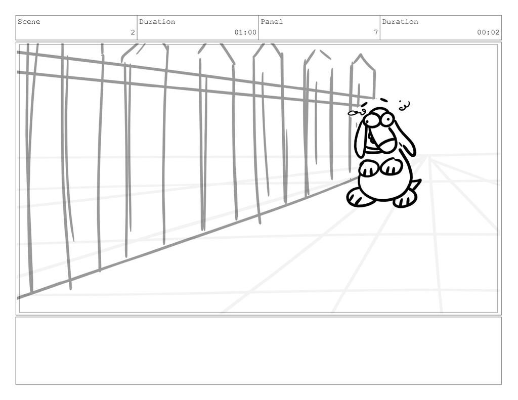 Scene 2 Duration 01:00 Panel 7 Duration 00:02