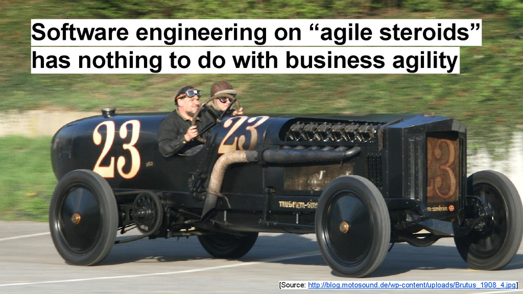 """Software engineering on """"agile steroids"""" has no..."""