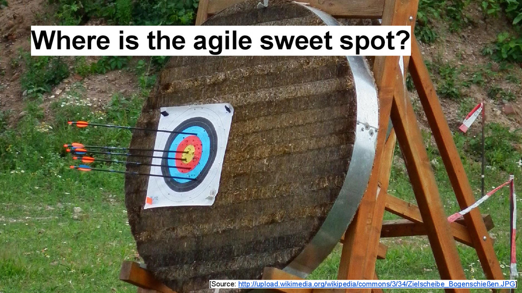 Where is the agile sweet spot? [Source: http://...