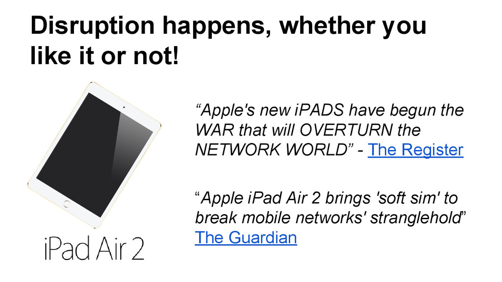 """""""Apple's new iPADS have begun the WAR that will..."""