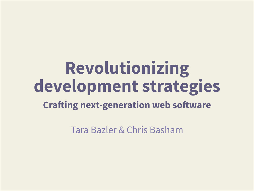 Revolutionizing development strategies Crafting...