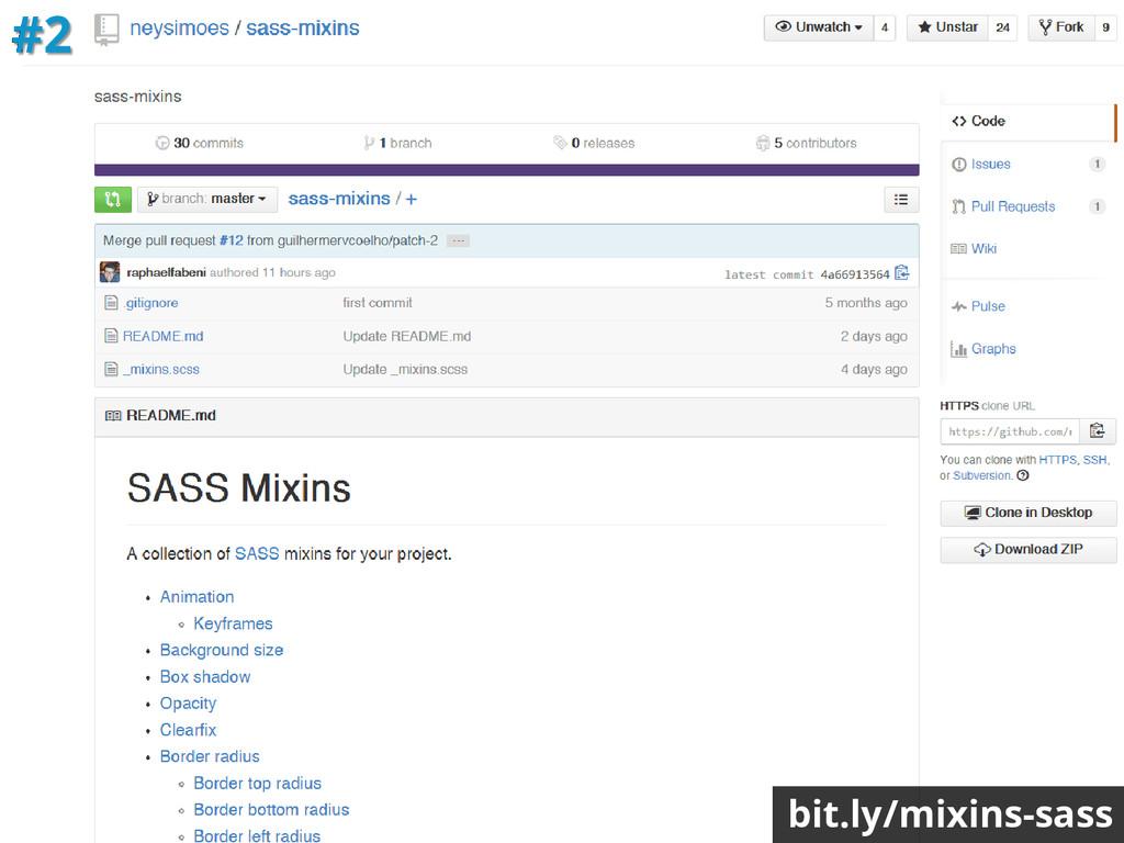 bit.ly/mixins-sass #2