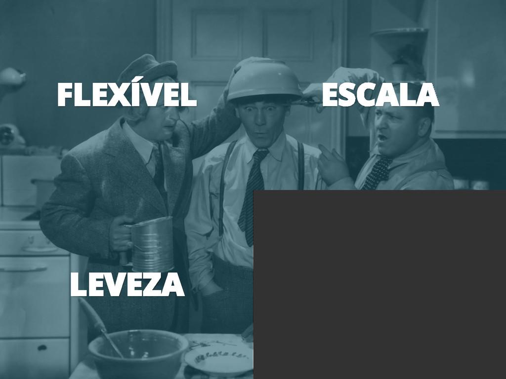 FLEXÍVEL ESCALA LEVEZA