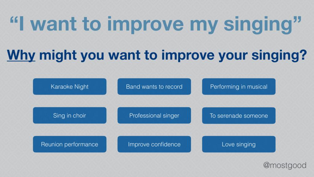 """@mostgood """"I want to improve my singing"""" Karaok..."""