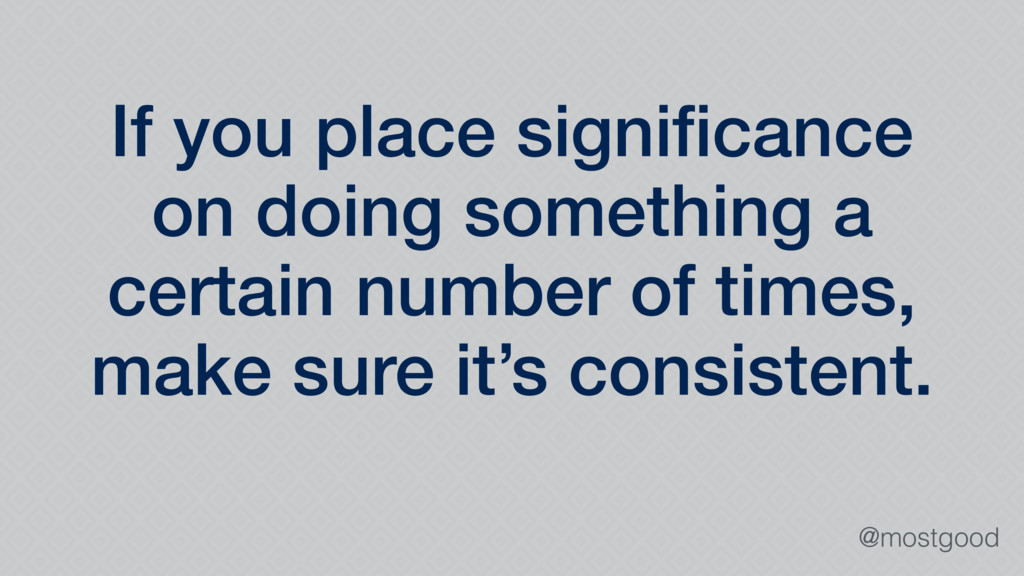 @mostgood If you place significance on doing som...