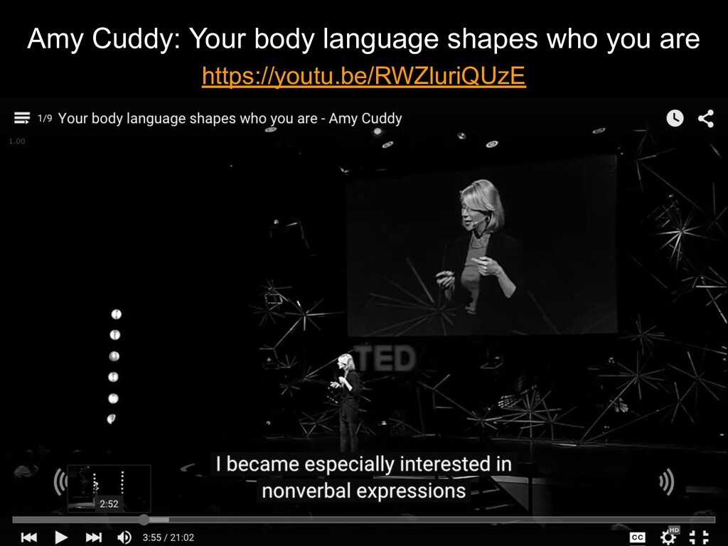 Amy Cuddy: Your body language shapes who you ar...