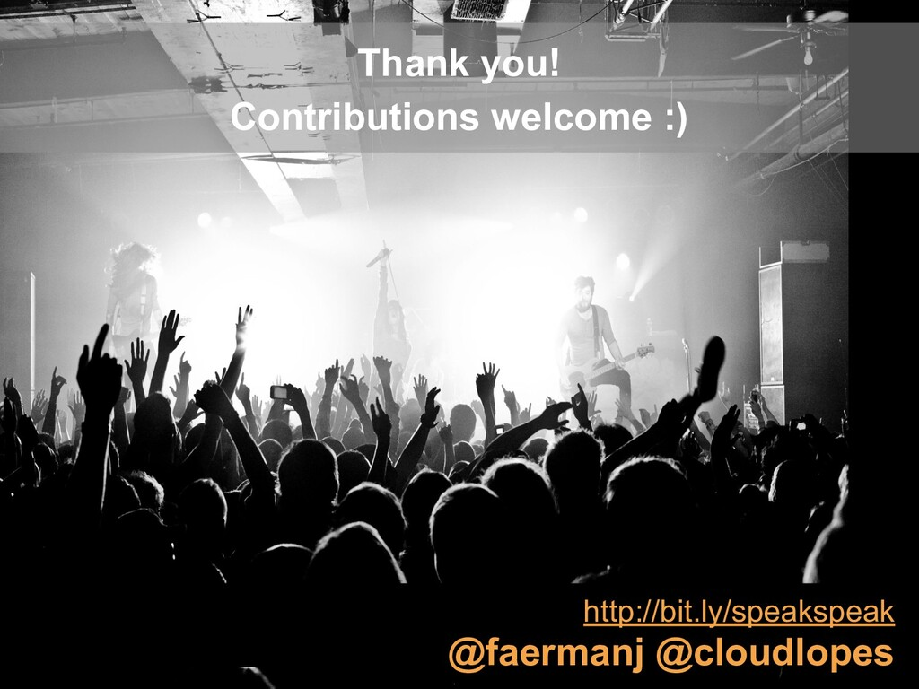 Thank you! Contributions welcome :) http://bit....