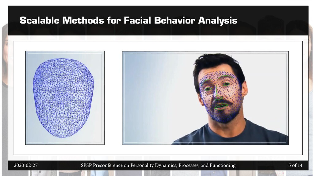 Scalable Methods for Facial Behavior Analysis