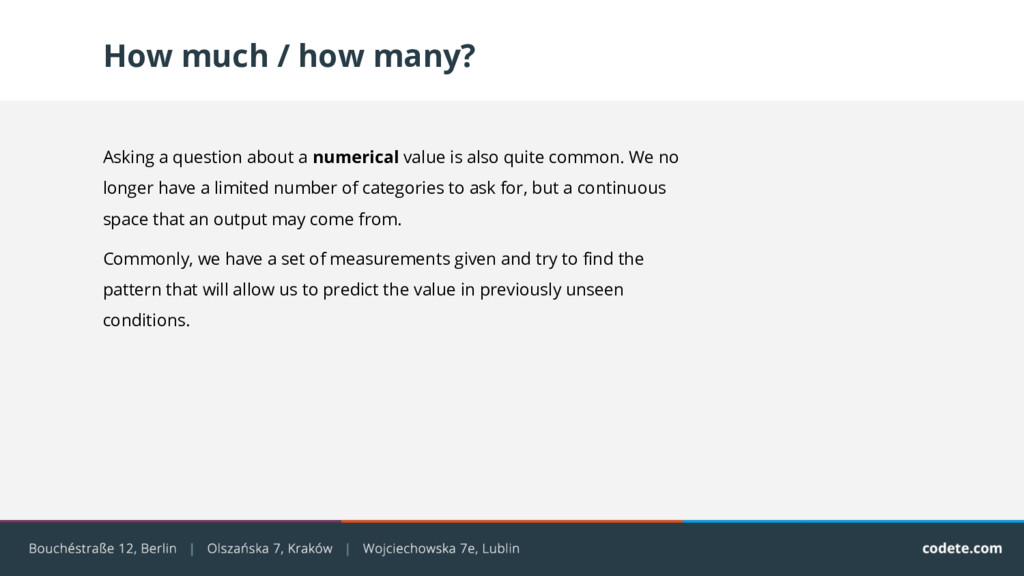 How much / how many? Asking a question about a ...
