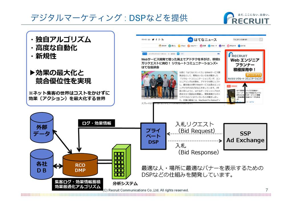 7 (C) Recruit Communications Co.,Ltd. All right...
