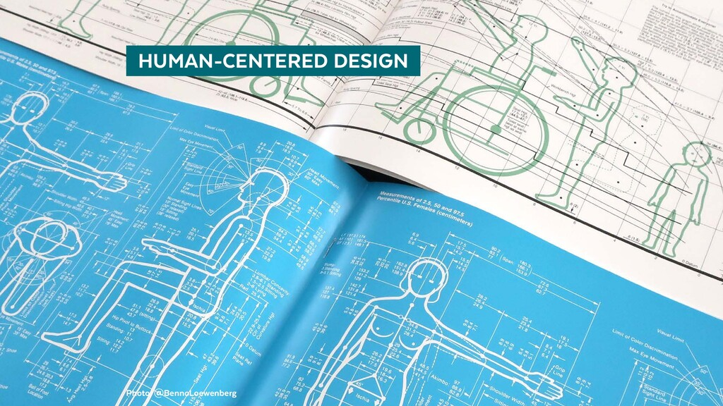 Photo: @BennoLoewenberg   HUMAN-CENTERED DESIGN
