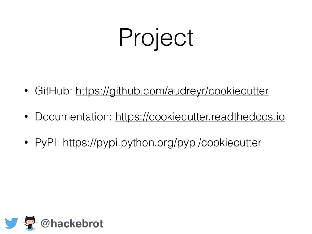 Project • GitHub: https://github.com/audreyr/co...
