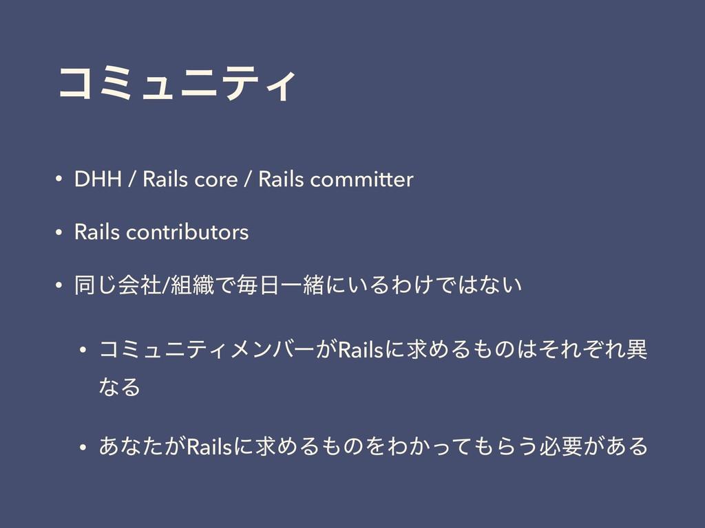 ίϛϡχςΟ • DHH / Rails core / Rails committer • R...