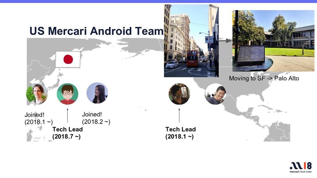 US Mercari Android Team Tech Lead (2018.1 ~) Te...