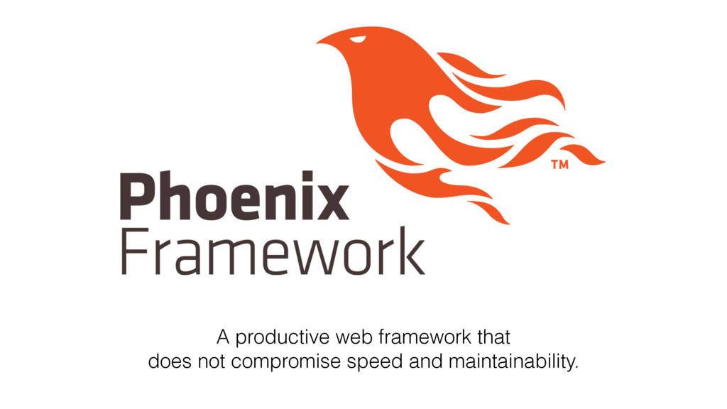 A productive web framework that does not compro...