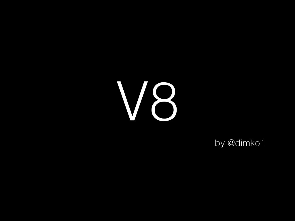 V8 by @dimko1