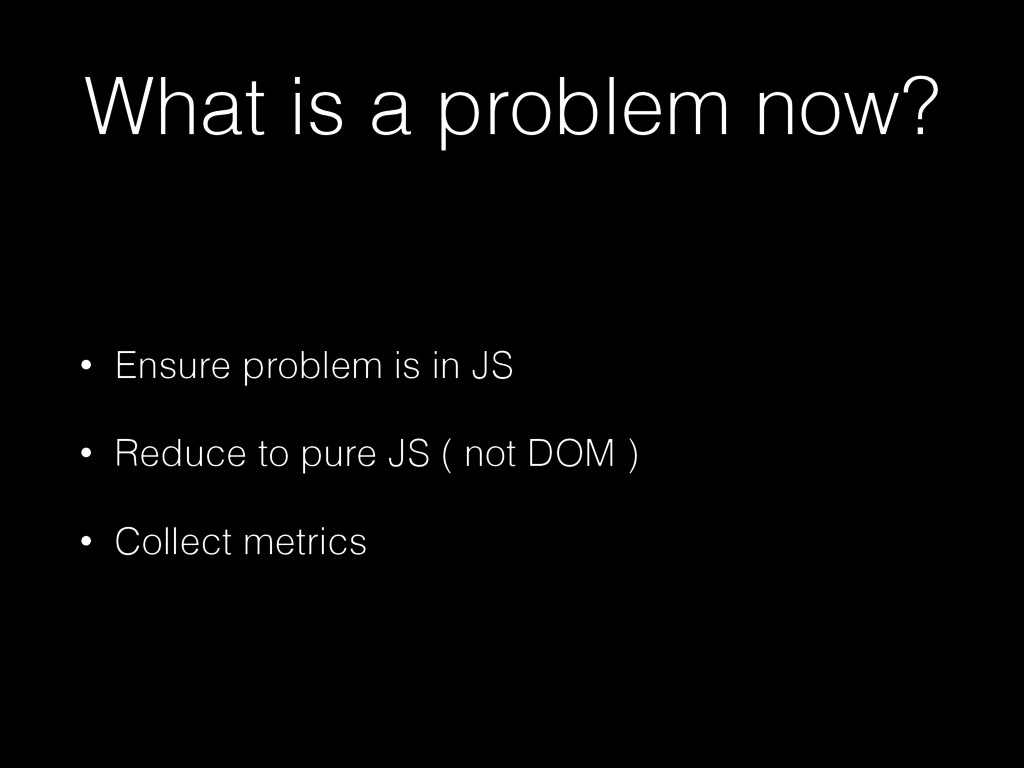 What is a problem now? • Ensure problem is in J...